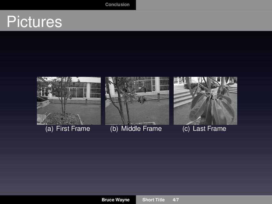 模仿苹果发布会 keynote 的 beamer 主题
