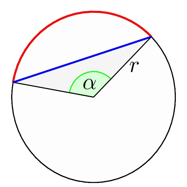 TiKZ 给圆画一个圆心角吧